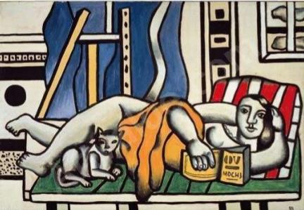 Fernand Léger, Woman and Cat