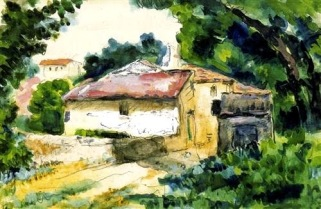 House in Provence, 1867, Paul Cezanne