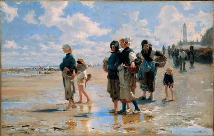 John Singer SargentEn Route pour la peche (Setting Out to Fish), 1878