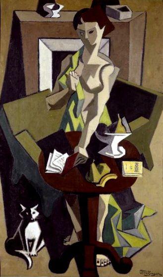 La robe Verte, Jean Metzinger