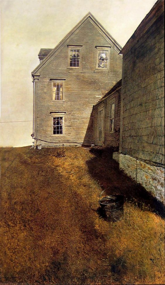 Weatherside, 1965, by Andrew Wyeth