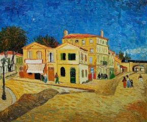 Yellow House in Arles, Vincent Van Gogh