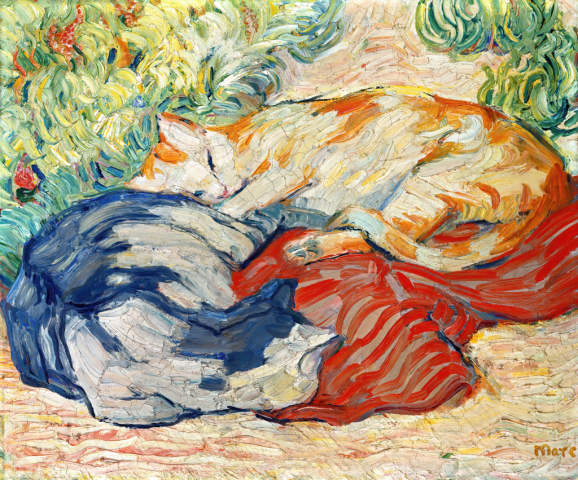 50_4841_franz-marc_cats-on-red-cloth