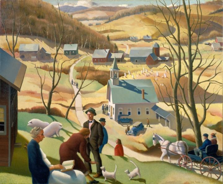 Beaver Meadow, Paul Sample