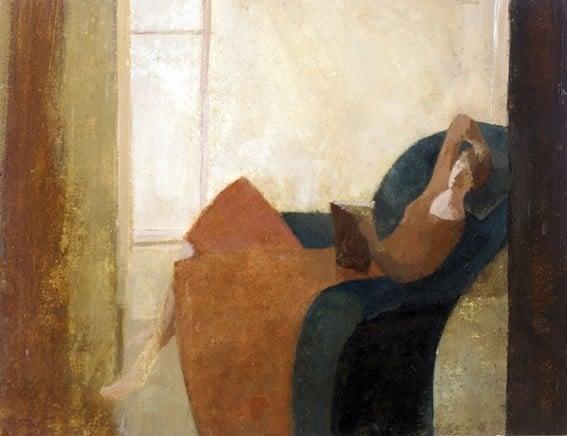 David Brayne Woman reading