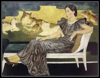 leonard tsuguharu foujita, Japanese-French, 1886-1968