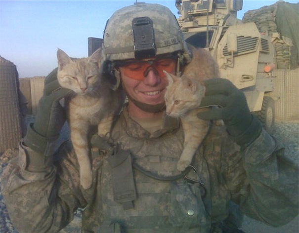 Making friends with the locals in Afghanistan