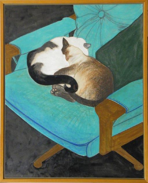 Two Cats, Tony Woods