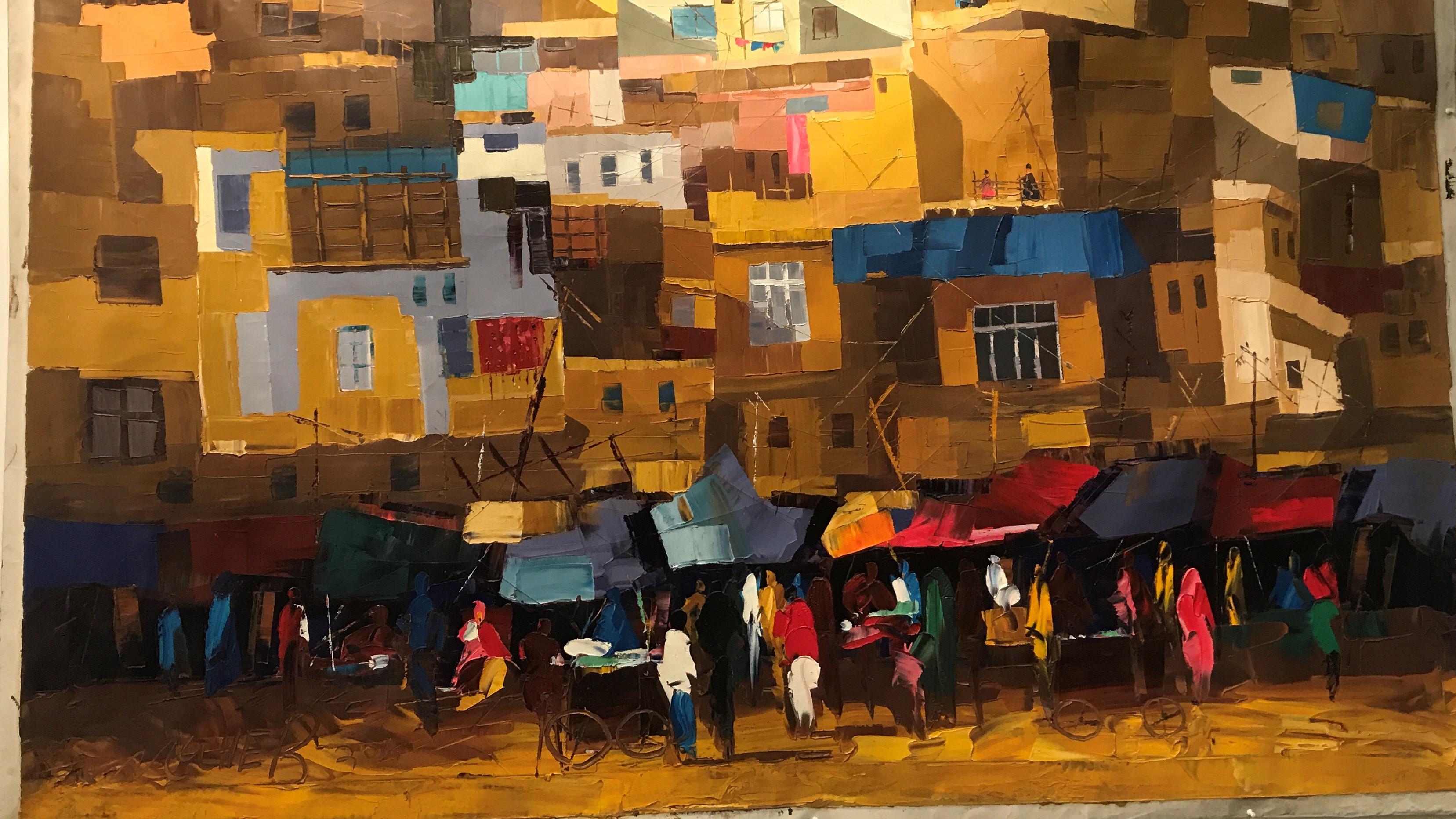 Artist Mohibullah Attaie (Moheb Sadiq)