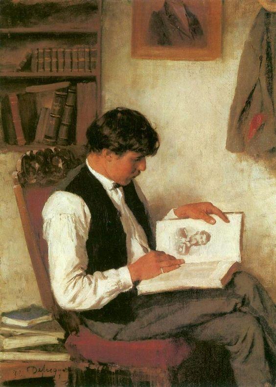 By Franz von Defregger
