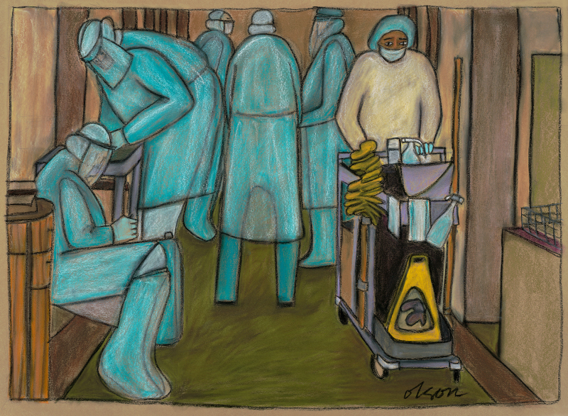Essential Workers, Carolyn Olson