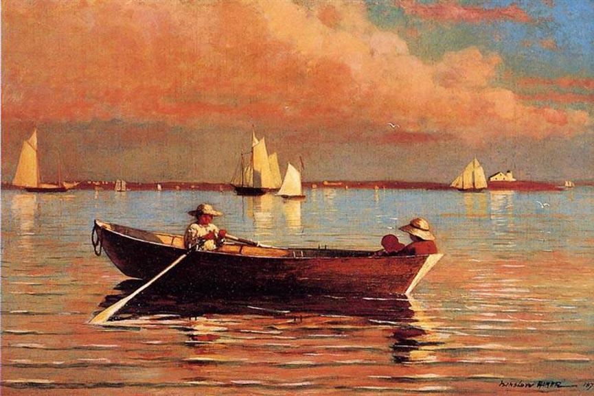 Gloucester Harbor, Winslow Homer