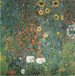 Gustav Klimt, Bauerngarten mit Sonnenblumen, 1906
