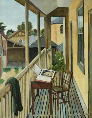 Rowntree, Kenneth, 1915-1997; The Balcony