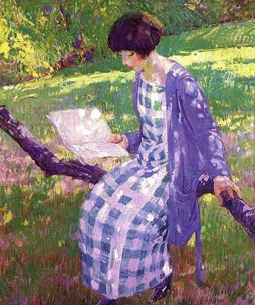 Late Summer, Hermann Wessel, 1924