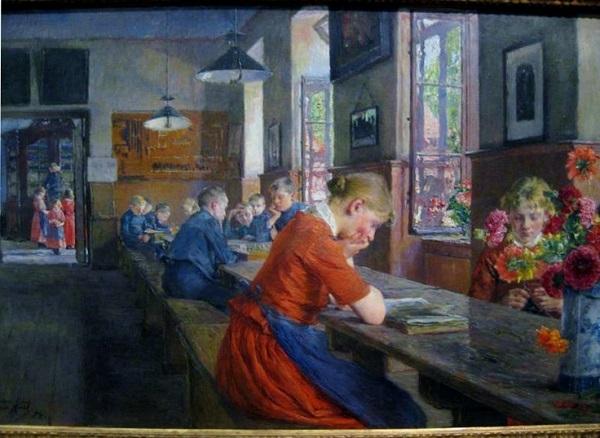 LÜBECK ORPHANAGE (1894) GOTTHARDT KUEHL