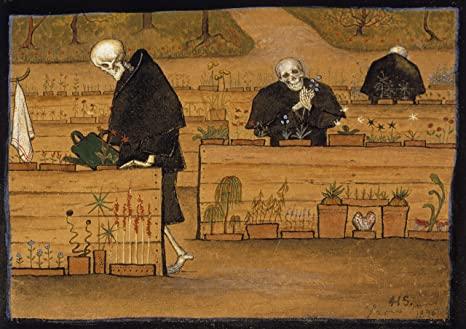 The Garden of Death, Hugo Simberg, 1897