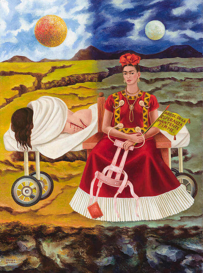 Tree of Hope, Remain Strong, 1946, by Frida Kahlo