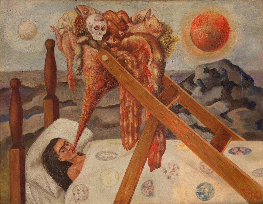 Without Hope, 1945, by Frida Kahlo