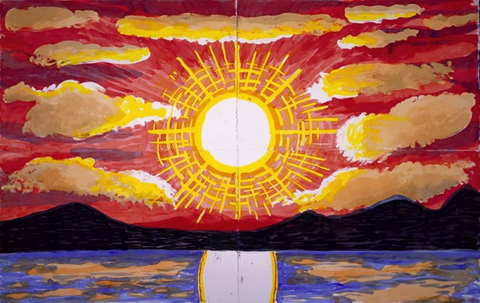 David Hockney, Northern Sunset