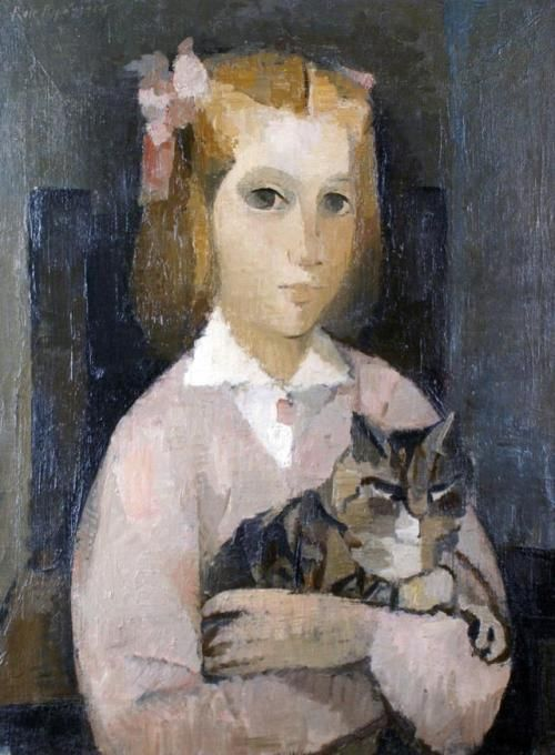 Manolo Ruiz-Pipo, 1957 Spanish, 1929–1998, The Little Girl with the Cat