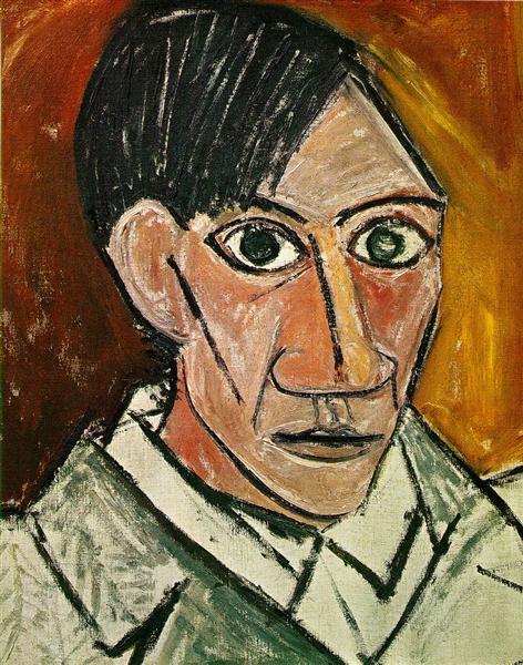 Self Portrait, 1918, Pablo Picasso