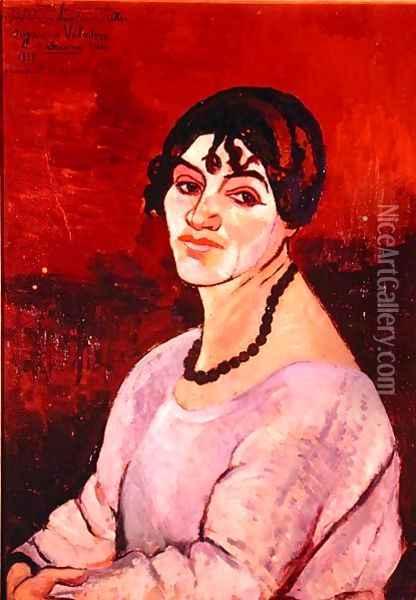 Self Portrait, 1918, Suzanne Valadon