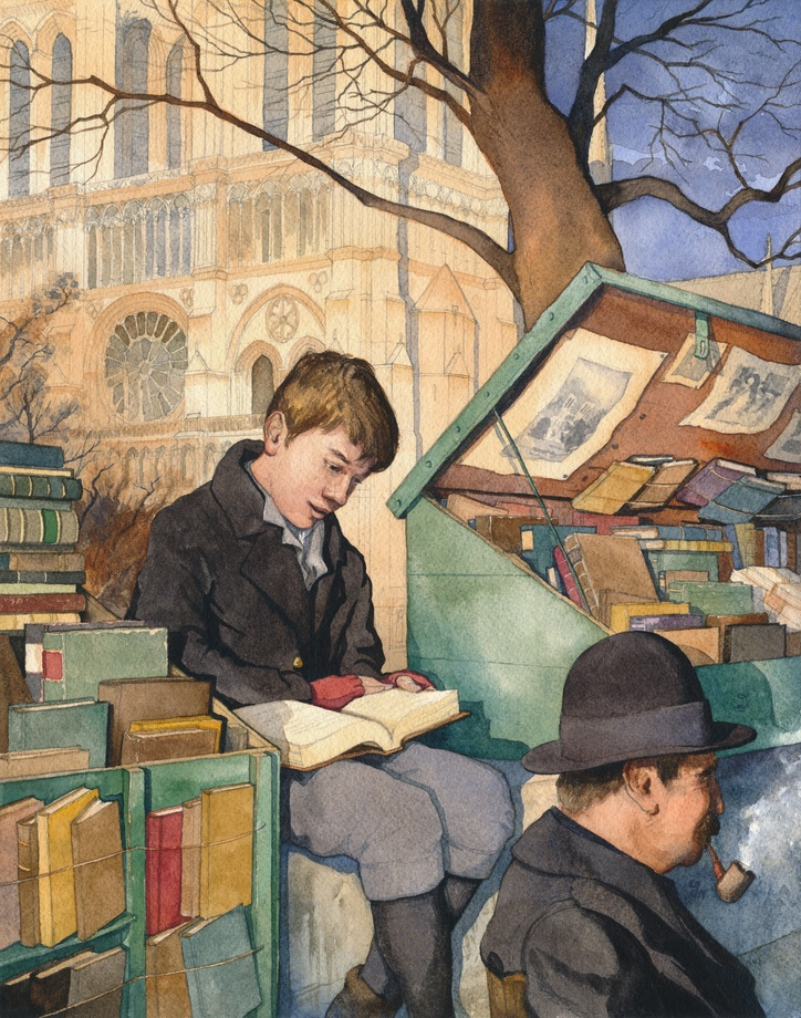 The Bookseller's Son, by Chad Gowey