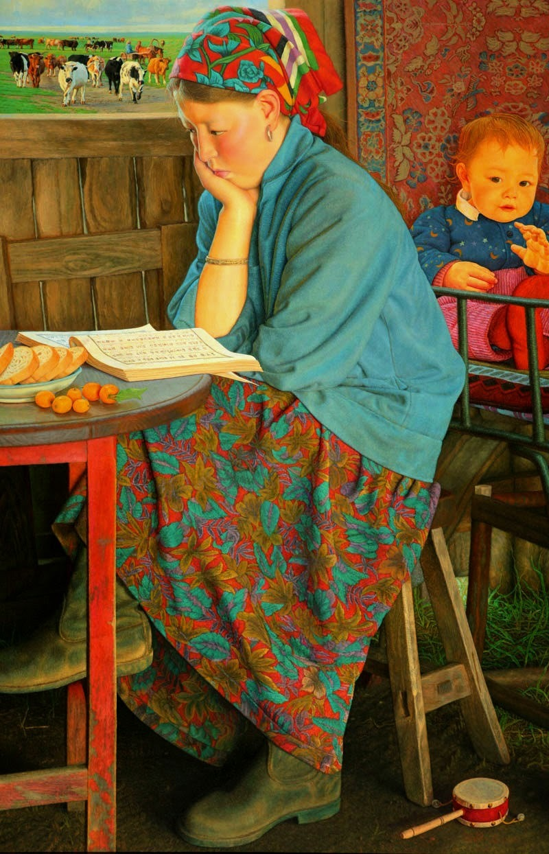 Long Liyou, Chinese artist