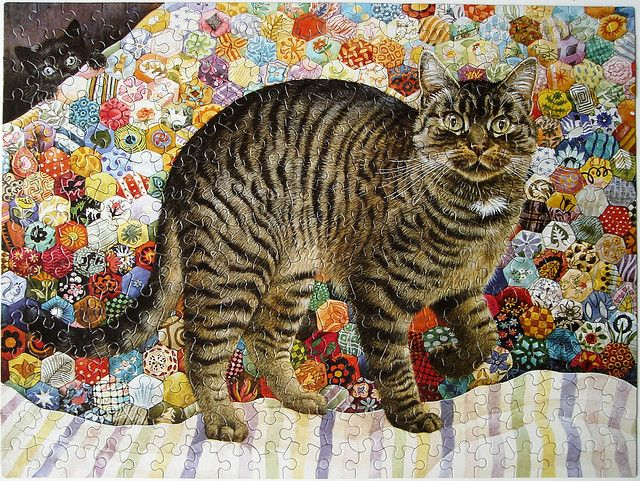 Muppet on the Quilt, Lesley Anne Ivory