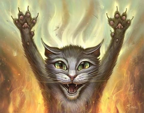 Psycho Cat, by Jeff Haynie